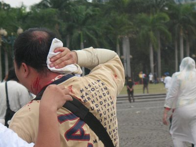 Korban, di hari Pancasila