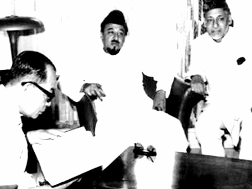 Foto Bung Hatta & Sayyid Sah M