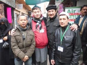 bersama saudara2 dari Kirgistan, Rusia